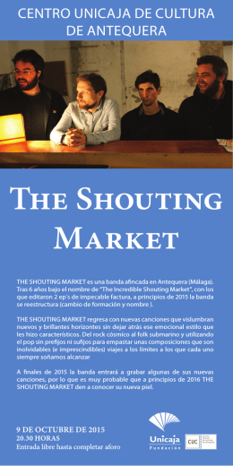 the shouting Market
