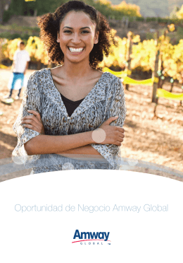 Oportunidad de Negocio Amway Global