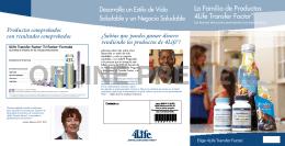 La Familia de Productos 4Life Transfer Factor®