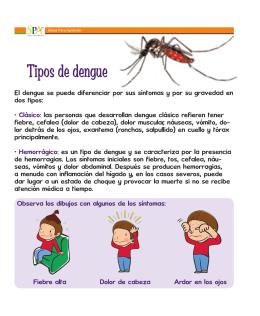 4.1 Tipos de dengue