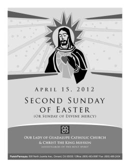 Parish/Parroquia: 500 North Juanita Ave., Oxnard