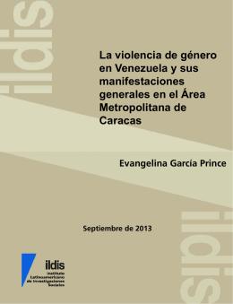 La violencia de género en Venezuela y sus manifestaciones