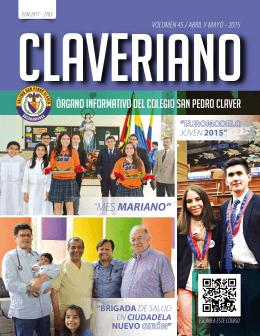 abril y mayo - 2015 - Colegio San Pedro Claver