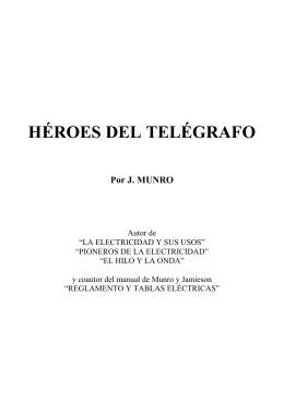 héroes del telégrafo - Colegio Oficial Ingenieros de Telecomunicación