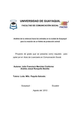tesis de andres - Repositorio Digital Universidad de Guayaquil