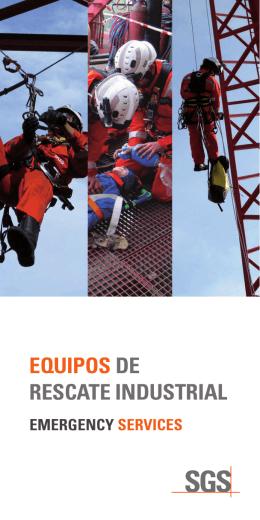 EQUIPOS DE RESCATE INDUSTRIAL - Equipo de Rescate Industrial