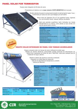folleto tecnico