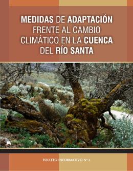 medidas de adaptación frente al cambio climático en la cuenca del