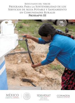 Programa Para la Sostenibilidad de los Servicios de Agua Potable y