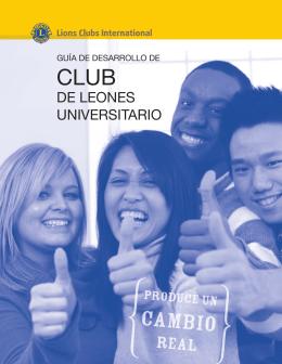Guía a la formación de clubes universitarios