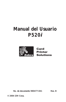 Manual del Usuario P520i