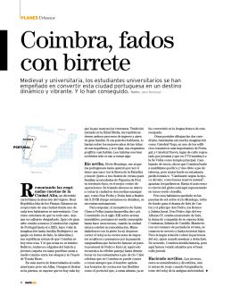 Coimbra, fados con birrete