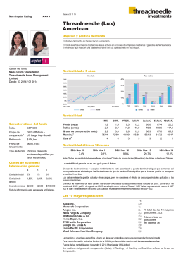 Threadneedle (Lux) American - Columbia Threadneedle Investments