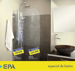 especial de baños