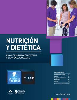 NUTRICIÓN Y DIETÉTICA - Universidad Finis Terrae