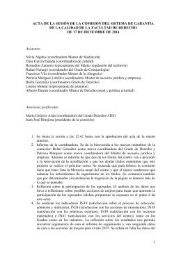 2014-12-17-CGC - Universidad de Málaga