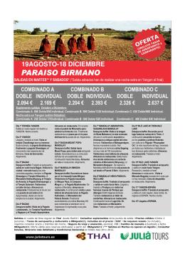 PARAISO BIRMANO