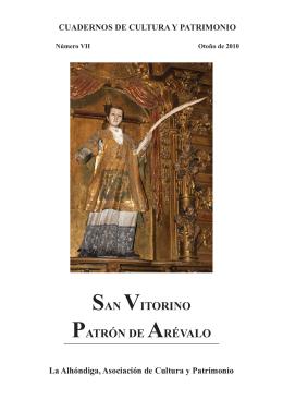 SAN VITORINO PATRÓN DE ARÉVALO