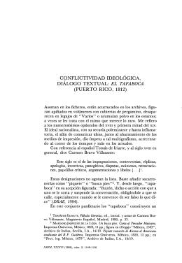 DIÁLOGO TEXTUAL: EL TAPABOCA