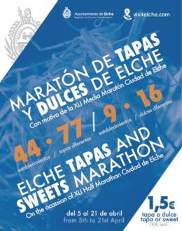Folleto Maratón de Tapas y Dulces 2013