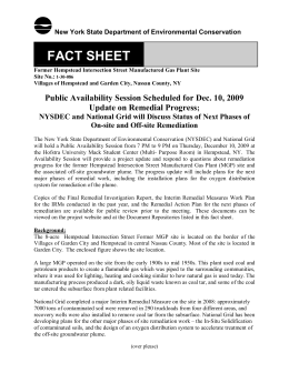 FACT SHEET - National Grid:Hempstead