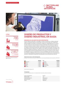 Diseño de productos y diseño industrial