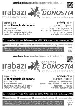 DONOSTIA DONOSTIA - Irabazi Donostia