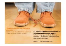 folleto jornada irse.ud 2014 - Irse