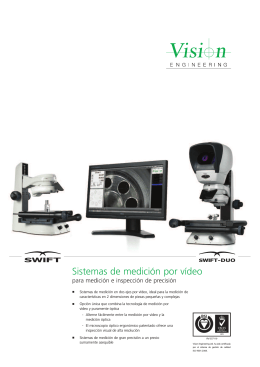 Swift, Swift-Duo : Sistemas de medición por vídeo