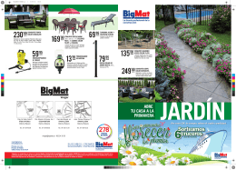 PDF - Folleto Jardín 2014 Bigmat Verger