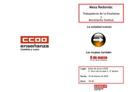 Mesa Redonda: - Feccoocyl