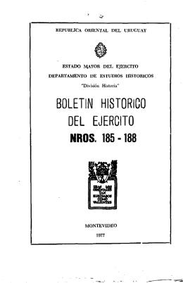 boletín histórico del ejercito nros. 185 -188