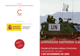 Folleto Jornadas defensa