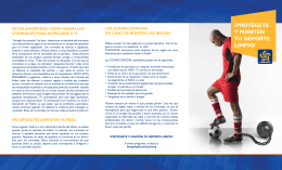 Integridad Deportiva