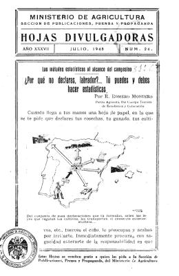 24/1945 - Ministerio de Agricultura, Alimentación y Medio Ambiente