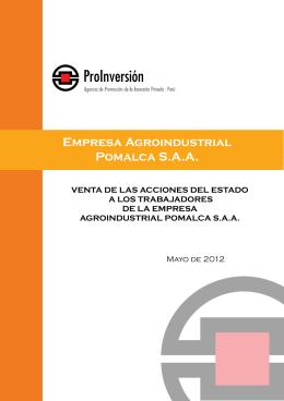 Empresa Agroindustrial Pomalca S.A.A.