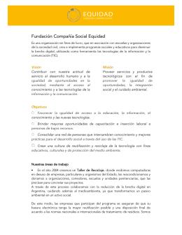 Fundación Compañía Social Equidad