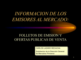 D. Carlos Lázaro