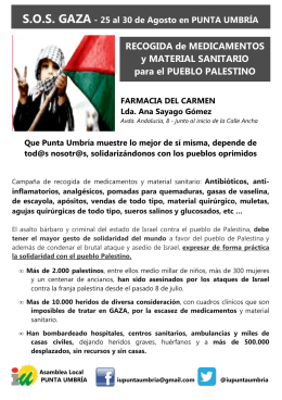 FOLLETO SOS GAZA a5