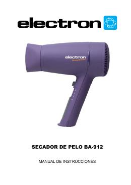 SECADOR DE PELO BA-912