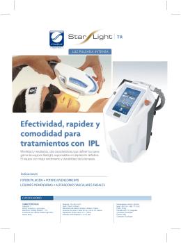 Efectividad, rapidez y comodidad para tratamientos con IPL