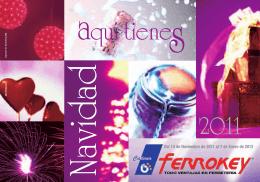folleto navidad 2011..