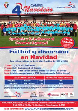 Folleto Web - Club Atlético Osasuna