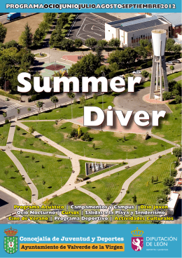 Descargar Folleto Summer Diver 2012