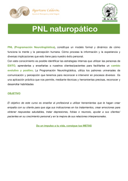 Folleto PNL