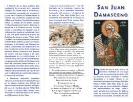 San Juan Damasceno - Iglesia Católica Apostólica Ortodoxa de la