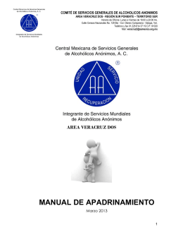 MANUAL DE APADRINAMIENTO