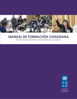 MANUAL DE FORMACIÓN CIUDADANA