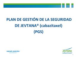 cabazitaxel - Asociación Española de Urología