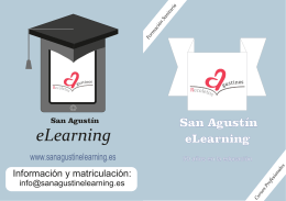 Folleto Sanitaria.cdr - San Agustín eLearning